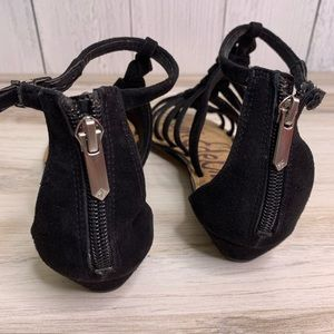 Sam Edelman Shoes - Sam Edelman Dakota Suede Braid Sandals